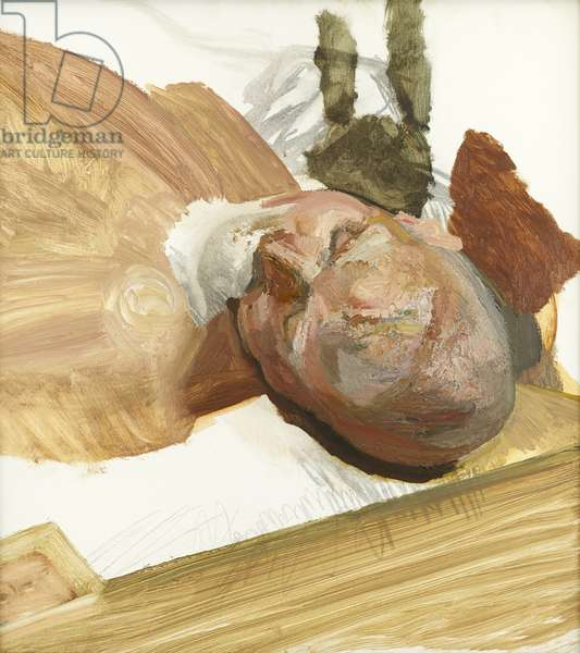 Fragment of Head of Leigh', 1993 (oil on canvas)