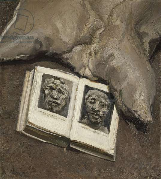 Still Life with Book, 1993 (oil on canvas)