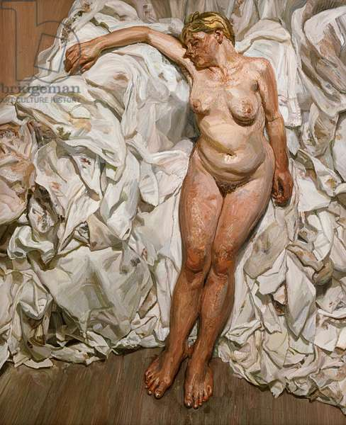 Standing by the Rags, 1988-89 (oil on canvas)