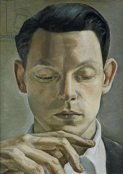 A Writer, 1955 (oil on canvas)