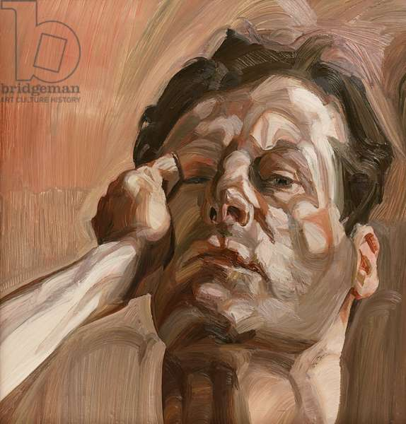 Man's Head (Self Portrait) 1963 (oil on canvas)
