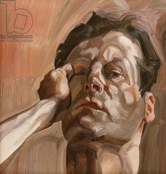 Man's Head (Self Portrait) 1963 (oil on canvas)