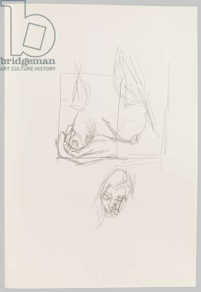 Drawings of a Model (ll), c.2001 (pencil on paper)