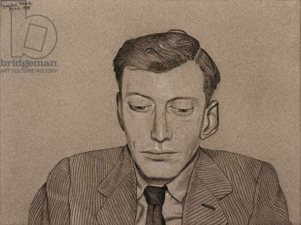 Peter Watson, 1945 (conte, charcoal & chalk on paper)