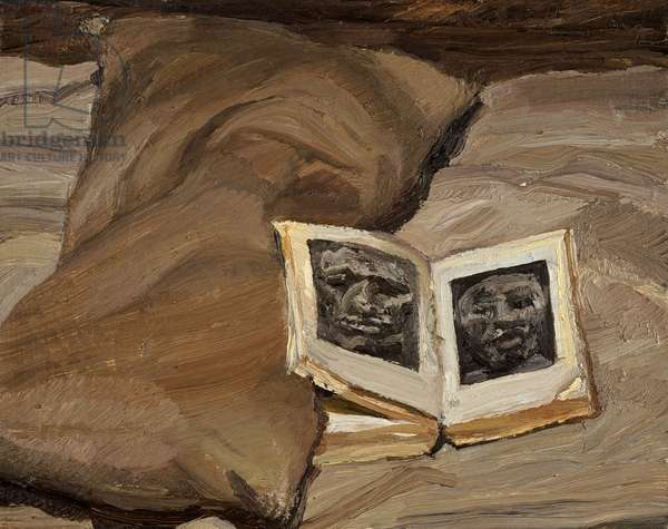 Still Life with Book, 1991-92 (oil on canvas)