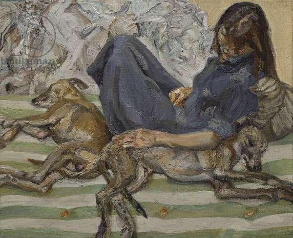 Triple Portrait, 1987-88 (oil on canvas)