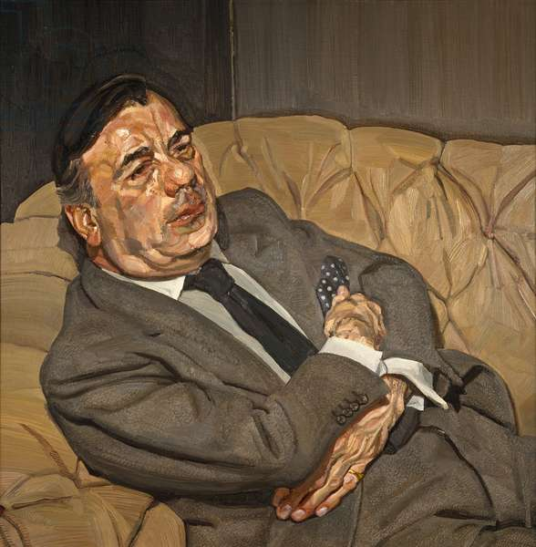 Guy Half Asleep, 1981-82 (oil on canvas)