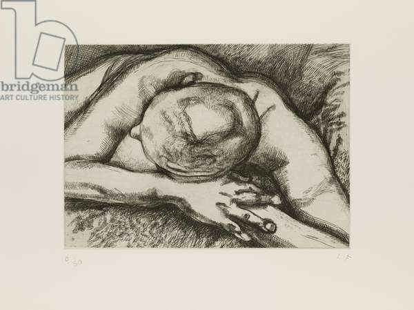 Reclining Figure, 1994 (etching)
