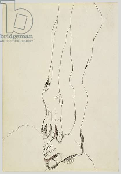 Legs, 1940 (ink on paper)