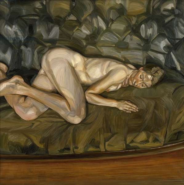 Resting Nude Portrait IV, 1963 (oil on canvas)