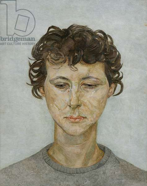 Head of a Woman, c.1950 (oil on canvas)