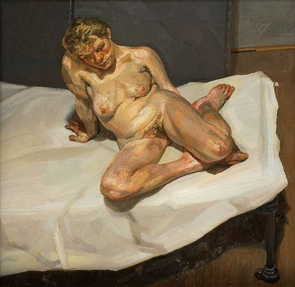 Girl Sitting, 1987-88 (oil on canvas)