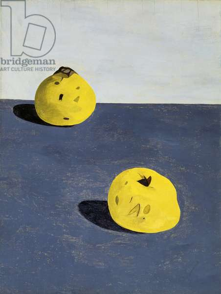 Quinces, 1944 (oil on panel)