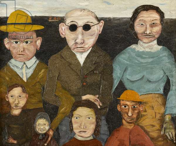 The Refugees, 1941 (panel)