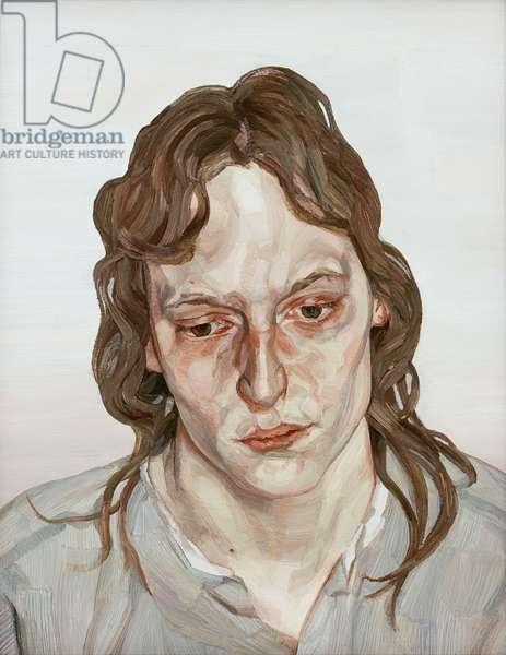 Head of a Girl, 1975-76 (oil on canvas)