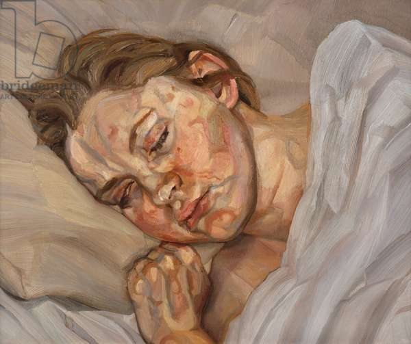 Sleeping Head, 1979-81 (oil on canvas)