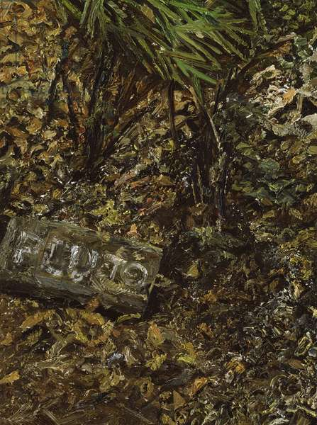 Pluto's Grave, 2003 (oil on canvas)