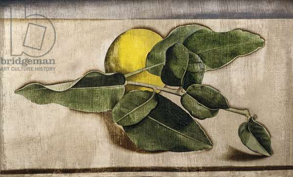 Lemon, 1946-47 (oil on cardboard)