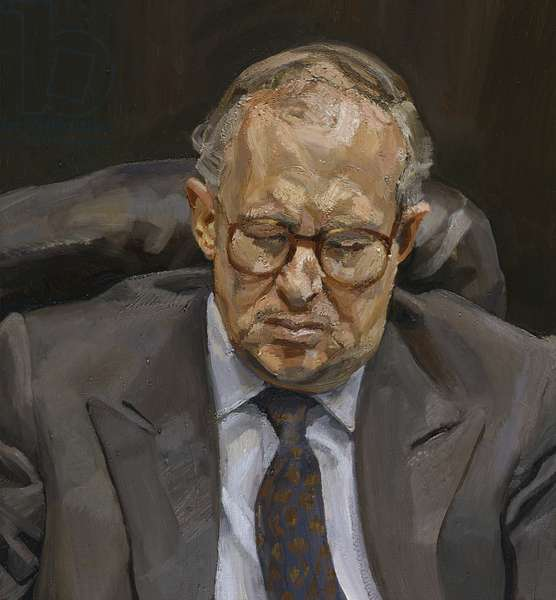 Portrait of a Man, 1994 (oil on canvas)