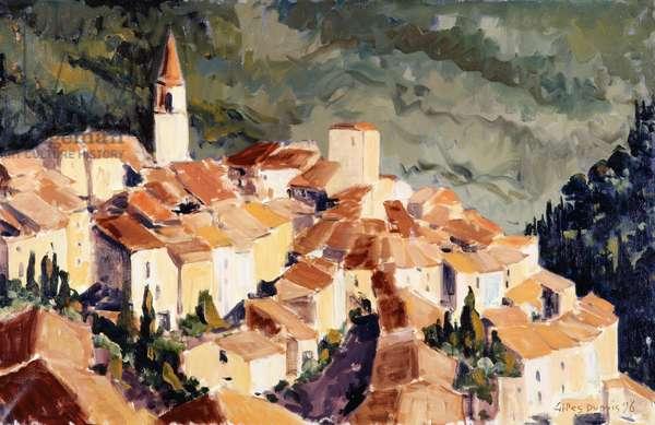 Bargemon, 1998 (oil on canvas)