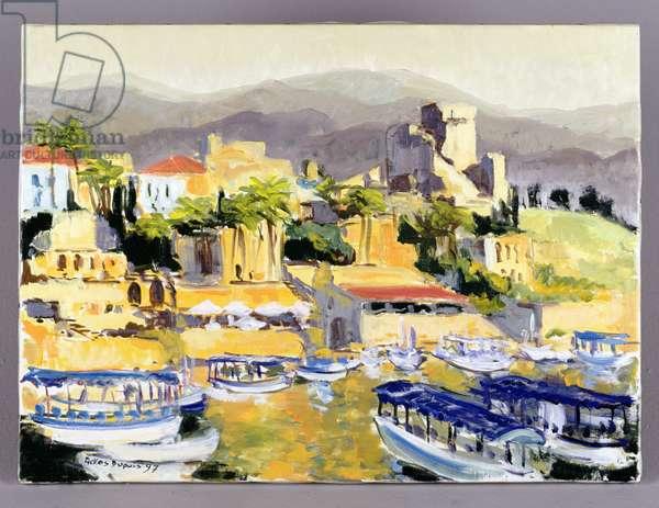 Jubayl, 1997 (oil on canvas)