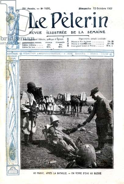 Battle in Morocco