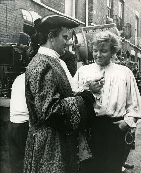 Albert Finney British actor on the set of Tom Jones film by Tony Richardson 1963