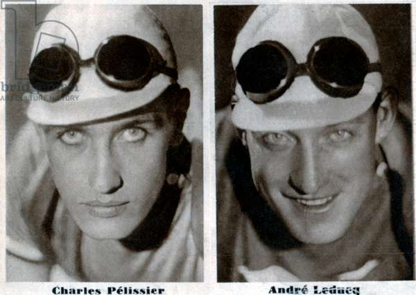 Charles Pelissier and Andre Leducq
