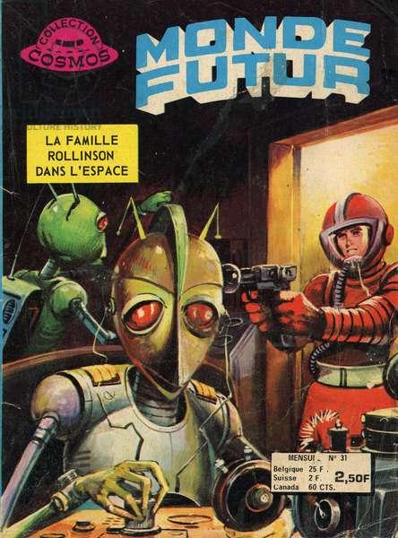 Future World The Rollinson family in space comics 1976