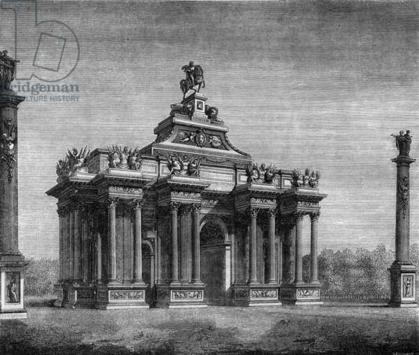 Triumph Arch of the Throne