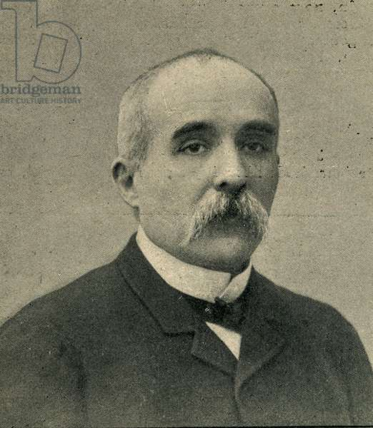 Georges Clemenceau 1841 1929 French statesman President of the Council from 1906 to 1909 and from 1917 to 1920 Photograph from the magazine Le Monde Illustré from November 1906