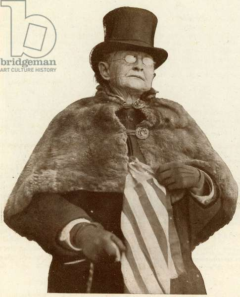 Mary Edwards Walker 1832 1919 Dean of Suffragettes Photograph from the newspaper Le Nord Illustrous in May 1912