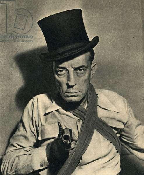 Buster Keaton at the Circus Medrano September 1947