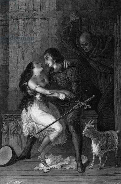 Esmeralda et Phoebus