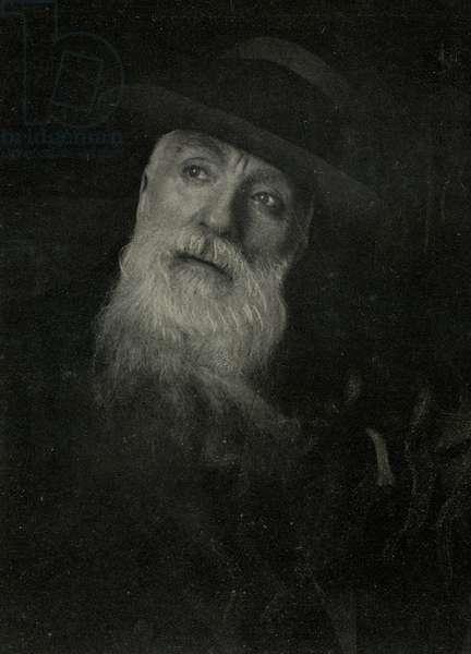 Auguste Rodin 1840 1917 Sculpteur francais Photographie de Choumoff prise 5 jours avant sa mort