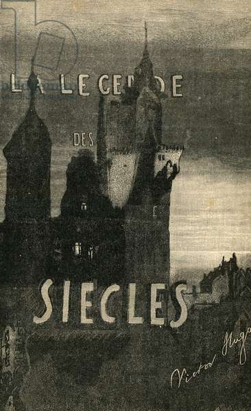 Drawing by Victor Hugo for the book La Legende des Siecles Vers 1880