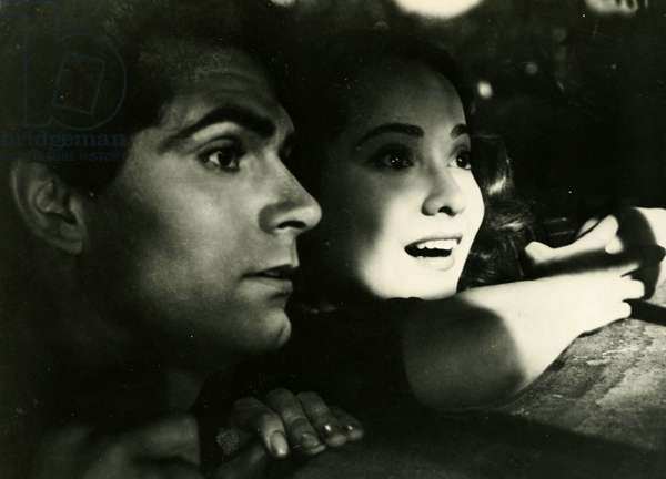 Laurence Olivier and Merle Oberon in Wuthering Heights 1939 Film by William Wyler