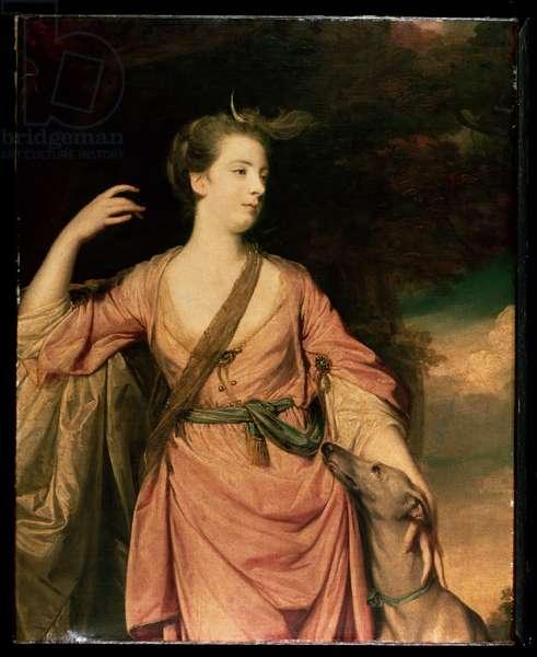 Lady Dawson c.1763 (oil on canvas)