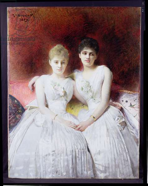Portrait of Marthe and Terese Galoppe, 1889