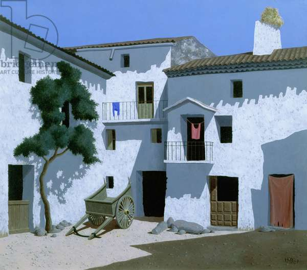 Spain, 1971 (tempera on canvas)