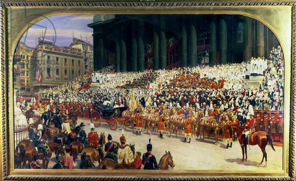 The Queen's Diamond Jubilee, 1897-99 (oil on canvas)