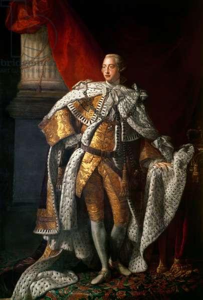 King George III, c.1762-64 (oil on canvas)