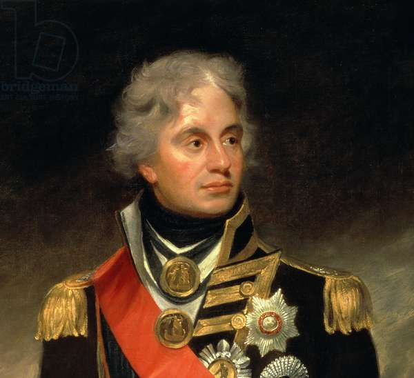 Horatio, Viscount Nelson (1758-1805) 1801 (oil on canvas) (detail of 13946)