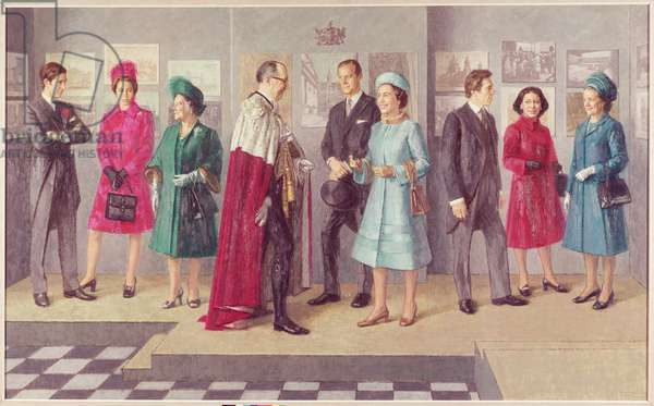 The Royal Family, 1972-74 (oil on canvas)