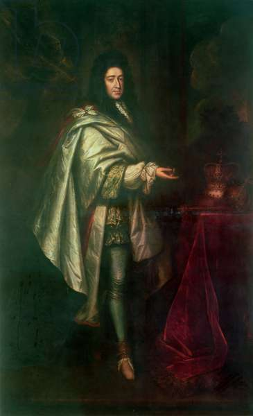 King William III (oil on canvas)