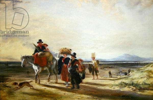 Barmouth Sands, 1835 (oil on canvas)
