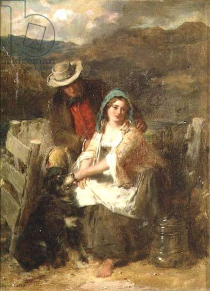 Too Young to be Married, 1869 (oil on canvas)