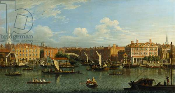 Entrance to Fleet River (oil on canvas)