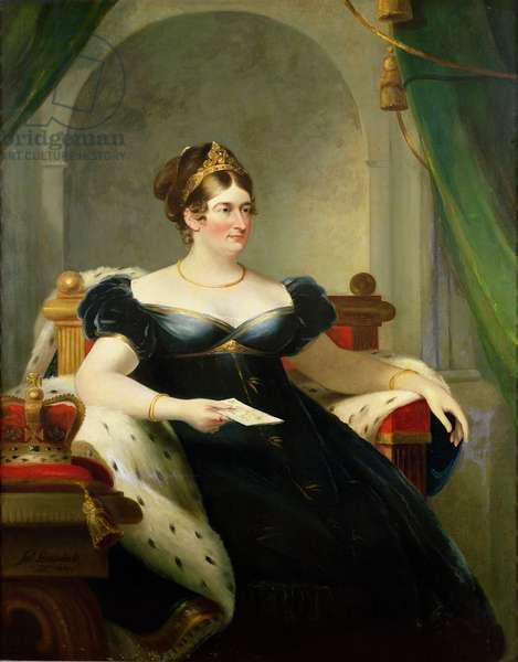 Caroline of Brunswick, Consort of George IV, 1820 (oil on canvas)
