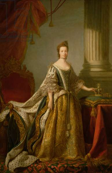 Queen Charlotte, c.1762-64 (oil on canvas)